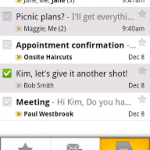 GMail Updated For Android Users