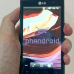 LG Optimus 3D Pictured