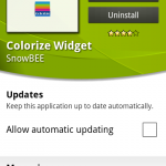 Android App Review – Colorize Widget
