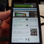 HTC Incredible S – Up close