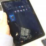 Samsung Galaxy Tab 10.1 – Up close