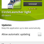 Coolsmartphone Recommended App – CircleLauncher Light