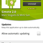 Coolsmartphone Recommended App – Gmote
