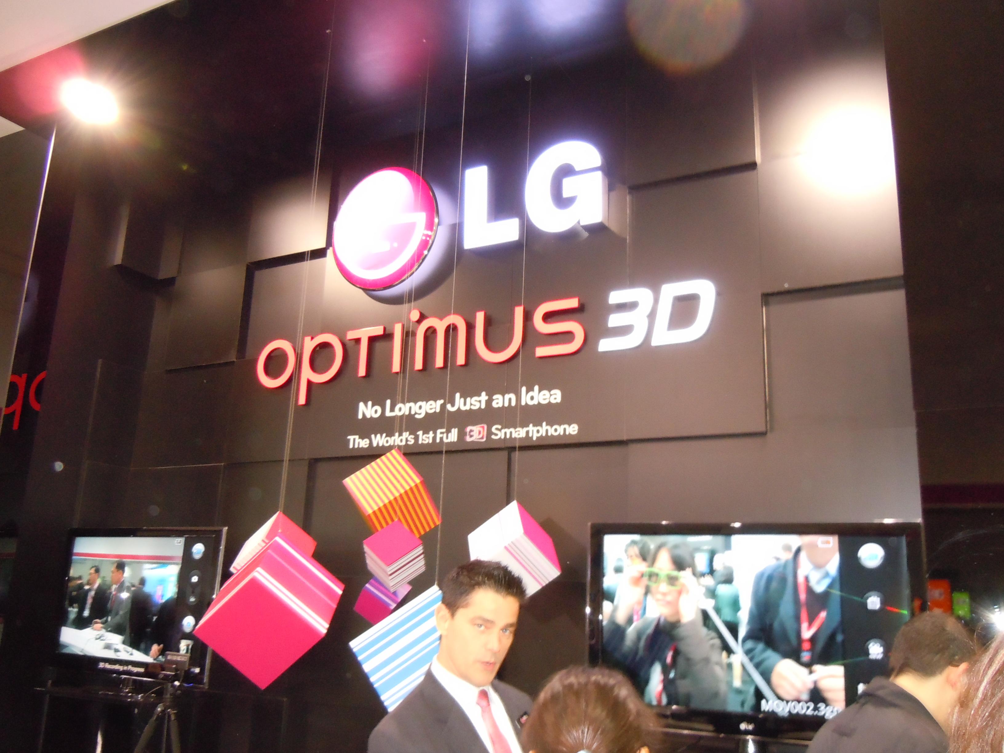 LG Revolution, 3D & 2X Hands On