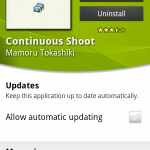 Coolsmartphone Recommended Android App – Continuous Shoot