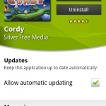 Coolsmartphone Recommended Android App – Cordy