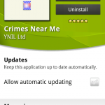 Coolsmartphone Recommended Android App – Crimes Near Me
