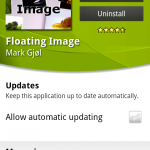 Coolsmartphone Recommended Android App – Floating Image