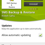 Coolsmartphone Recommended Android App – SMS Backup & Restore
