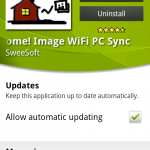Coolsmartphone Recommended Android App – Sweet Home! Image WIFI PC Sync