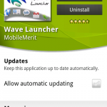 Coolsmartphone Recommended App – Wave Launcher