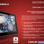 Motorola Xoom UK pricing revealed