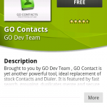 Coolsmartphone Recommended Android App – Go Contacts