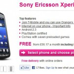 Sony Ericsson Xperia PLAY – Available on T-Mobile