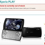 Vodafone start selling Xperia PLAY – Immediately sells out