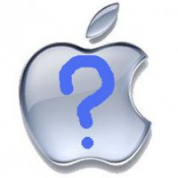 Apple question mark