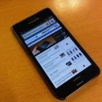 Samsung Galaxy S II on test