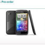 HTC Sensation available for pre-order on Vodafone