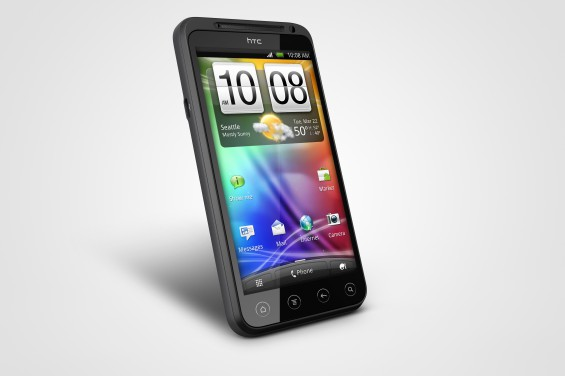 HTC EVO 3D   Front Left