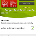Coolsmartphone Recommend Android App – Simple Text