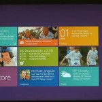 Windows 8 on show, tablet-centric UI