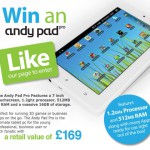 Win an Andy Pad Pro
