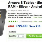 Asda drops the price of the Arnova 8 Tablet. Still a bit rubbish though.