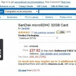 Deal – Cheap SanDisk 32GB microSD card