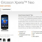 Xperia neo now available on Orange too