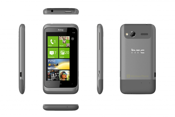HTC Radar   6 views   Metal Grey