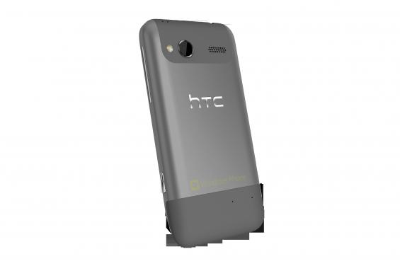 HTC Radar   back angle   Metal Grey