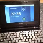 Asus Eee PC 4GB Running Android