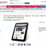 Bargain frenzy – The HP TouchPad at dabs.com