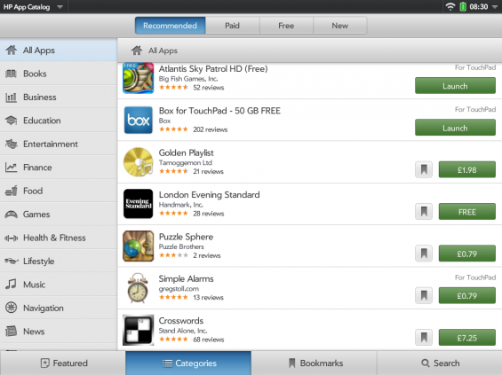 enyo findapps 2011 29 08 083009