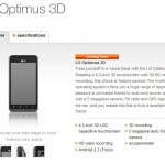 LG Optimus 3D arrives on Orange