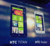 HTC announce Titan and Radar devices.