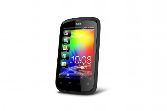 HTC Explorer PerLeft MetallicBlack