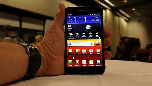 hands on galaxy note