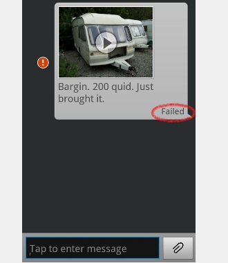 message mms problem