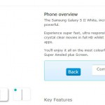 White Galaxy SII Also arriving on O2