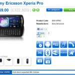 Sony Ericsson Xperia Pro now just a week away