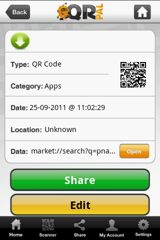 QR Pal Code
