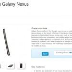 Galaxy Nexus coming to O2