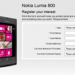 T-Mobile offers up the Nokia Lumia 800 too