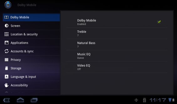 Acer Iconia Dolby