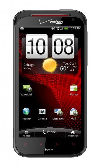 HTC Rezound Front