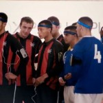 Sony Ericsson create a real-life football video game