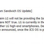 LG Optimus 2X will receive Ice Cream Sandwich