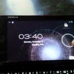 Nokia N900 shown running ICS