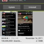 YouTube App receives an update